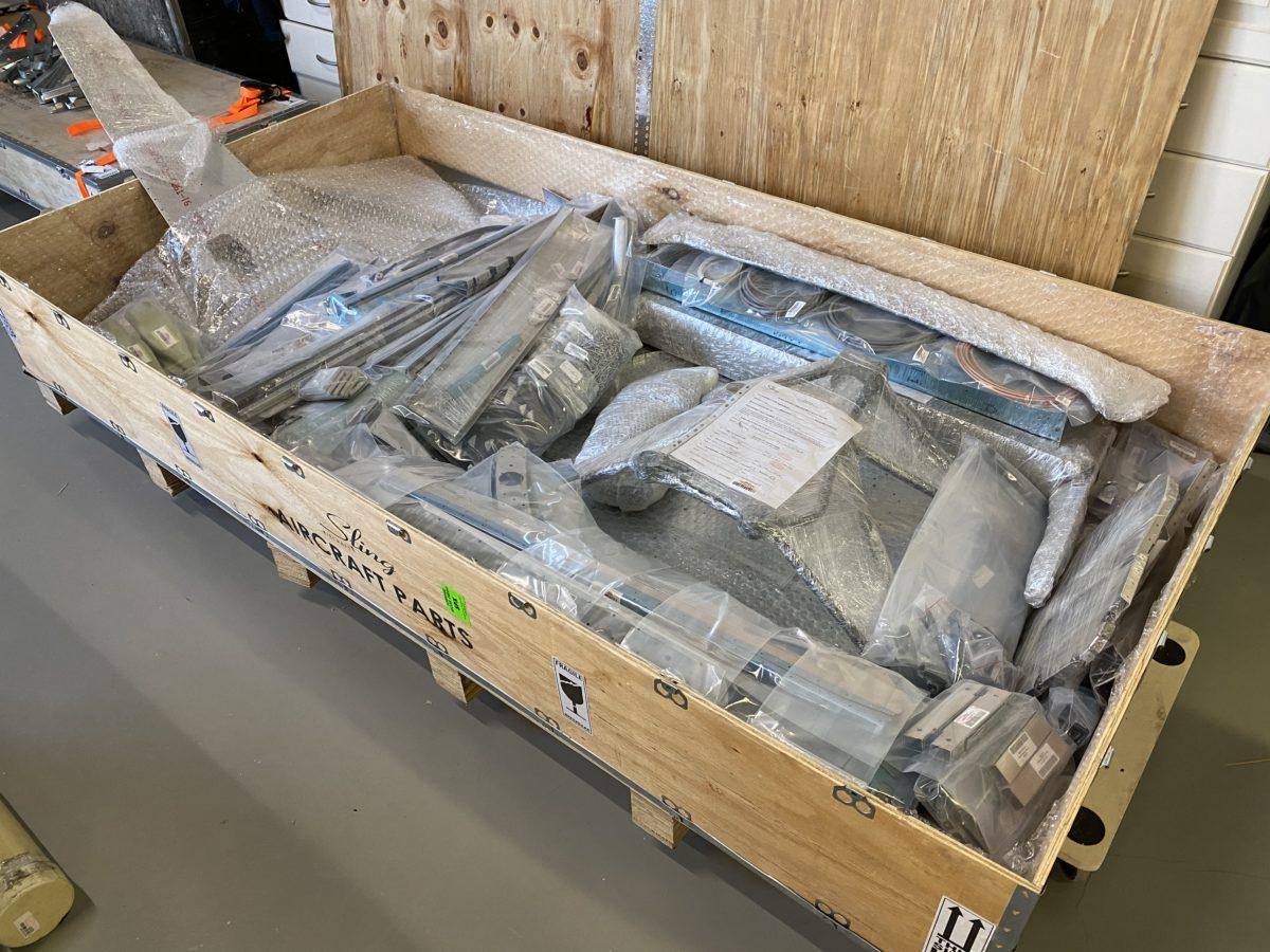 Fuselage kit inventory – 1
