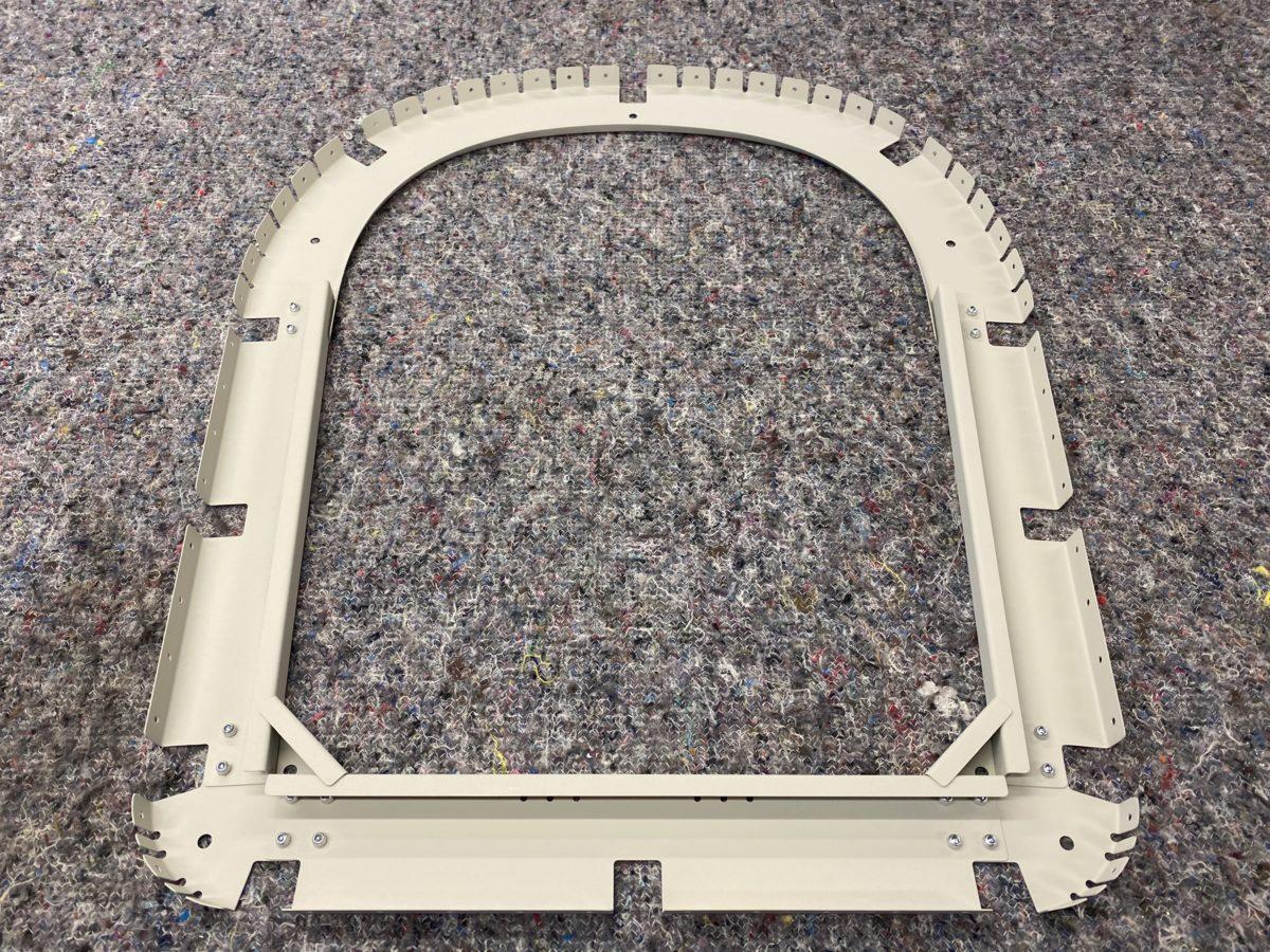 RF rivet rib 5 / prep rib 4 / test fit rib 3
