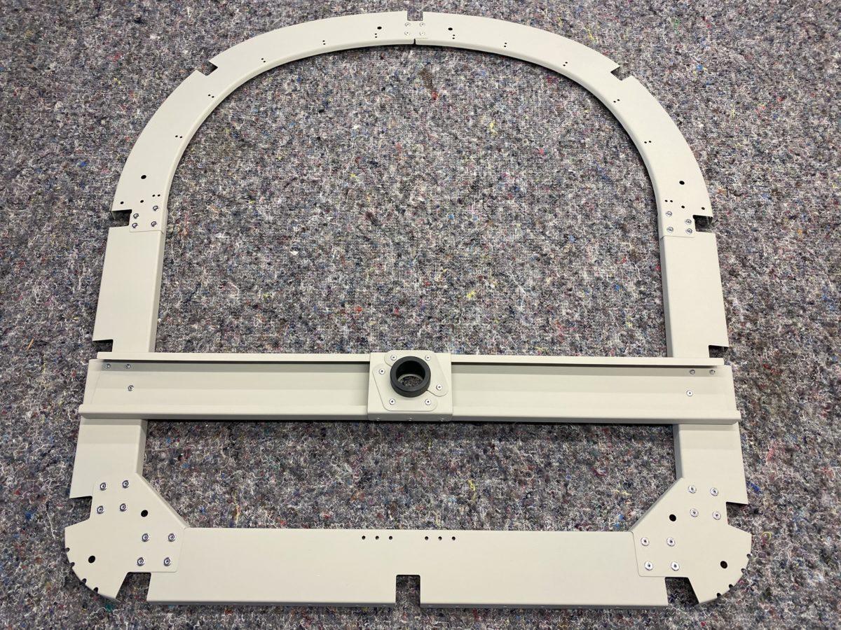 RF rivet rib 4 / prep and prime rib 3 / test fit rib 2